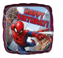Balón foliový  43 cm - Spiderman Happy Birthday - SPIDERMAN - LICENCE