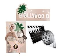 DEKORACE HOLLYWOOD 60 CM / 1ks - Girlandy