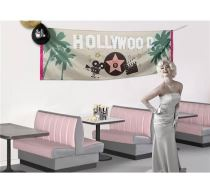 BANNER HOLLYWOOD 220 X 74 cm - Girlandy