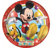 Talíře MICKEY MOUSE 23 cm, 8 ks - Párty program