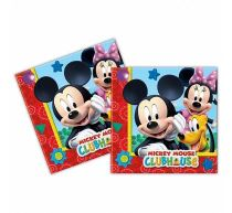 Ubrousky MICKEY MOUSE - 33x33 cm ,20 ks - Mickey - Minnie mouse - licence
