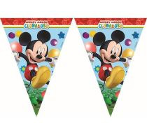 Banner - girlanda MICKEY MOUSE - vlajky - Girlandy