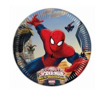 "Papírový talíř ""Ultimate SPIDERMAN"", 20 cm, 8 ks - SPIDERMAN - LICENCE"