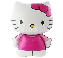 Balón foliový 60 cm  Hello Kitty - Hello Kitty licence