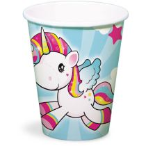 Kelímky Jednorožec - Little Unicorn 250ml / 8 ks - Párty program