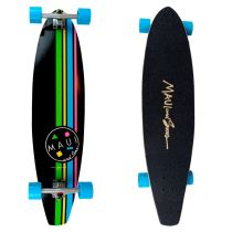 "Longboard Maui COOKIE STRIPE KICKTAIL 39"" - Longboardy"