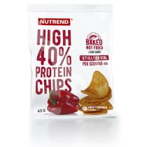 Proteinové chipsy Nutrend High Protein Chips 6x40g - Proteiny