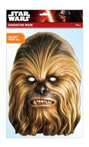 Maska celebrit - Star Wars - Chewbacca - Celebrity
