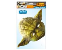 Maska celebrit - Star Wars - Yoda - Celebrity