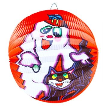 Lampion Halloween koule 25 cm