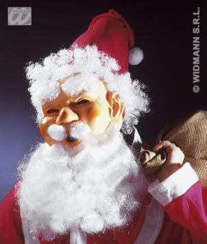Maska latex Santa Claus