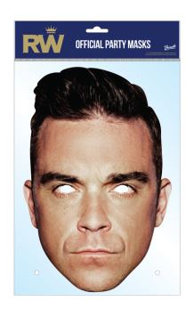 Robbie Williams Official  -  Maska celebrit